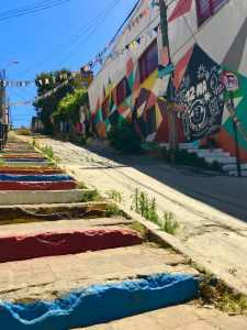 Las coloridas calles de Valpo